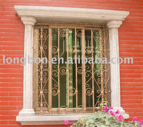 2014 top venda de ferro moderno grade da janela de cor cerca rede port 245 es id do produto