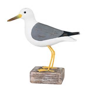 Common seagull wooden bird coastalhome co uk wooden birds amp fish