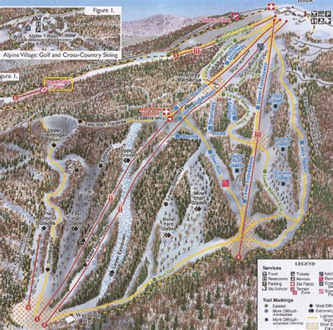 Knob Hill Trail Map by Snow Journal Serious About Snowsports