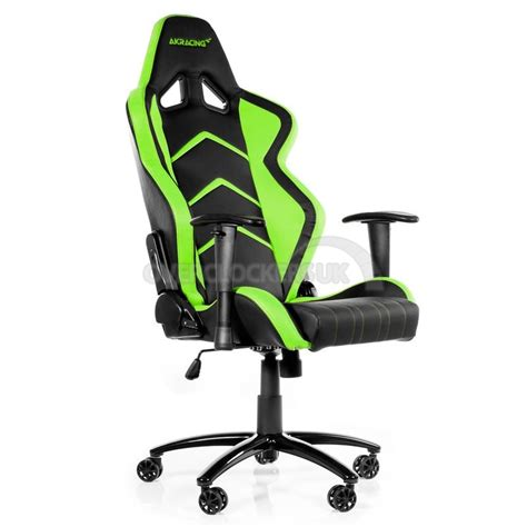 Green Gaming Chair by Ak Racing Player Gaming Chair Black Green Ocuk