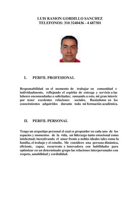 abhijit de perfil profesional calam 233 o hoja de vida contador