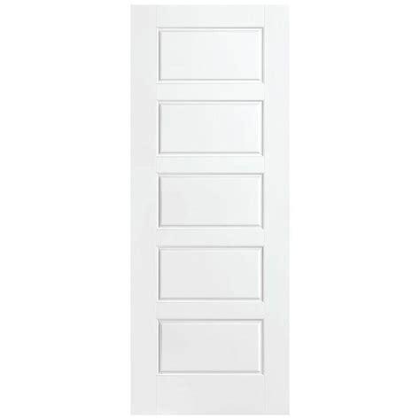 Masonite 30 In X 84 In Riverside Primed Solid Core 5 Masonite Solid Interior Doors