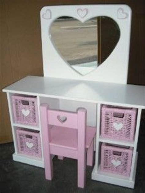 girls vanity table  chair table designs plans