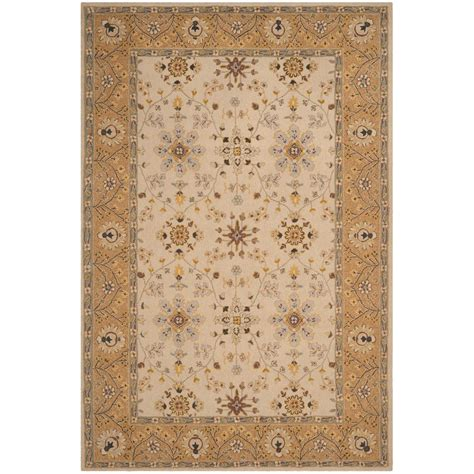 Safavieh Easy Care Ivory Beige 4 Ft X 6 Ft Area Rug Rug Care