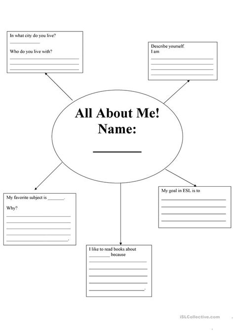 All About Me Worksheet For Adults all about me worksheet for adults