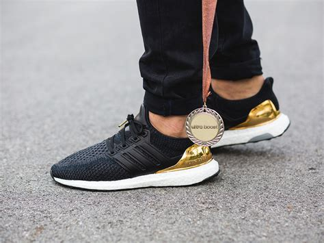 Adidas Ultra Boost Olympic Medal Black Gold s shoes sneakers adidas ultra boost limited quot olympic medal quot pack bb3929 best shoes