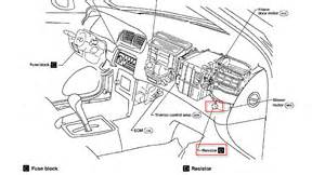 2008 nissan quest blower motor resistor location nissan quest blower resistor location get free image about wiring diagram