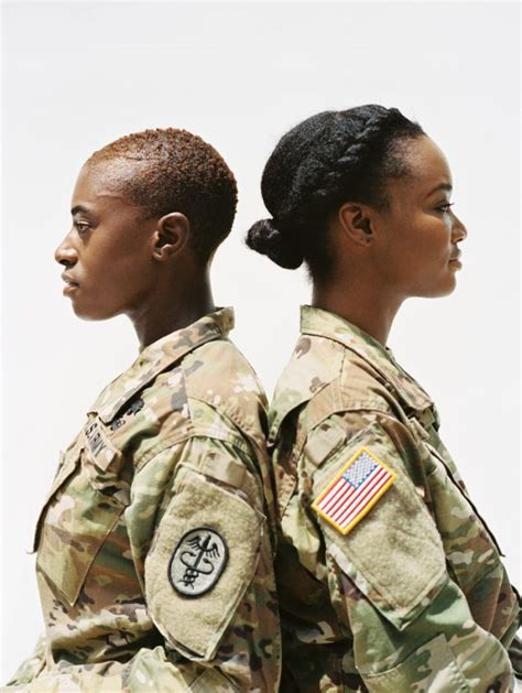 eomens appropriate hair for military uniform black girl magic vogue shines a light on naturalistas in