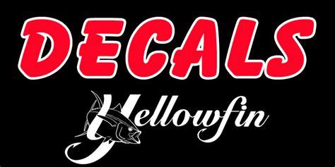 yellowfin boat decals - Yellowfin Boat Decals