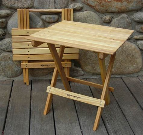 Wood Folding Table Plans Folding Wooden Table And Chairs Marceladick