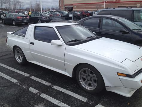 1988 mitsubishi starion crawling from the wreckage 1988 mitsubishi starion and