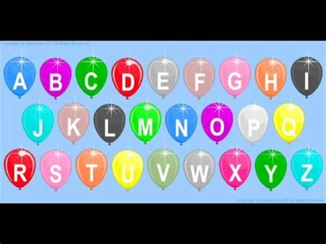 children s alphabet 3d cyan see and learn letters abc 3 3 last part doovi