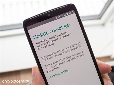 when is the next android update droid turbo picking up small additional ota after the android 5 1 release android central
