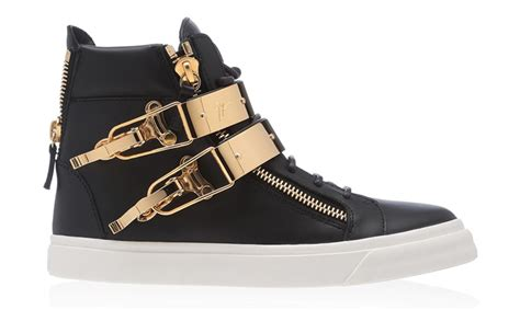 black and gold mens sneakers the new giuseppe zanotti