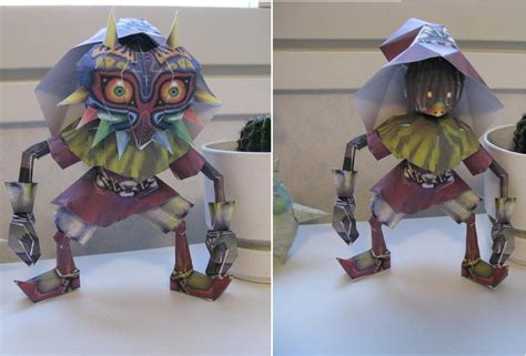 Papercraft Skull Mask - skull kid papercraft by killero94 on deviantart