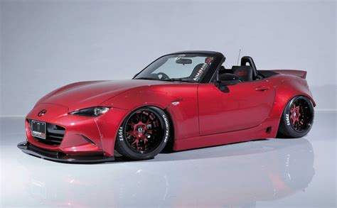 mazda mx 5 aimgain gives new mazda mx 5 old wide body styling