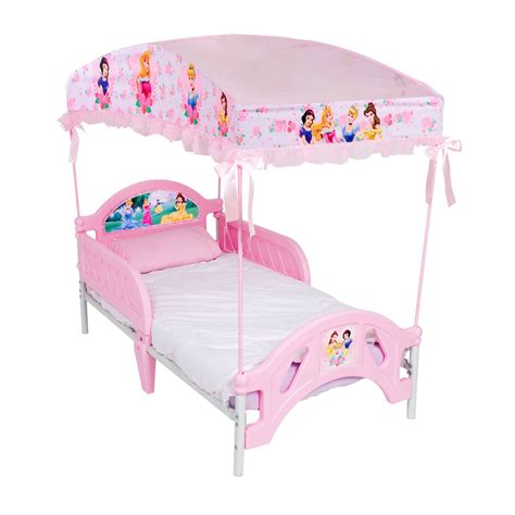 Toddler Bed Canopy Disney Princess Toddler Bed With Canopy
