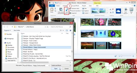 cara membuat opening video dengan movie maker cara membuat video dengan windows movie maker winpoin