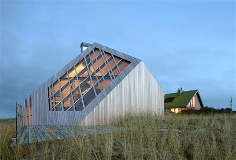 Future Cottage by Wood House Of The Future Geometric Cottage