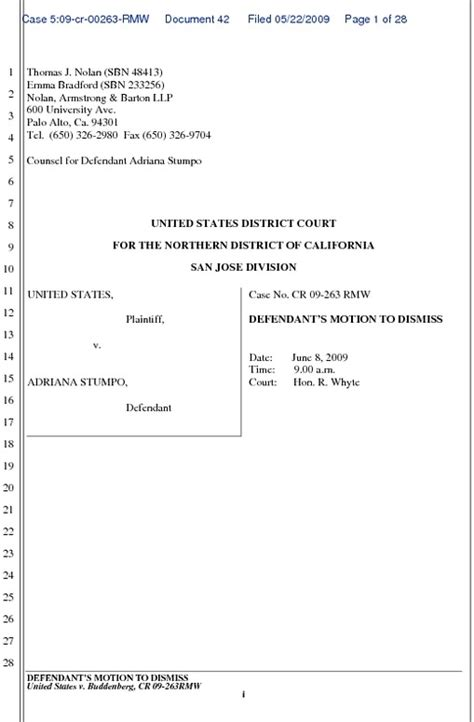 template for motion to dismiss motion to dismiss book ularerenal72 blogcu