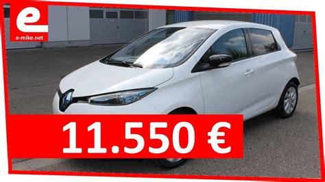 E Auto Kaufen Preis by Renault Zoe Intens 11 550 Elektroauto Gebraucht Kaufen