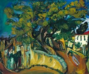 show de painting cagnes landscape with tree cha 239 m soutine tate