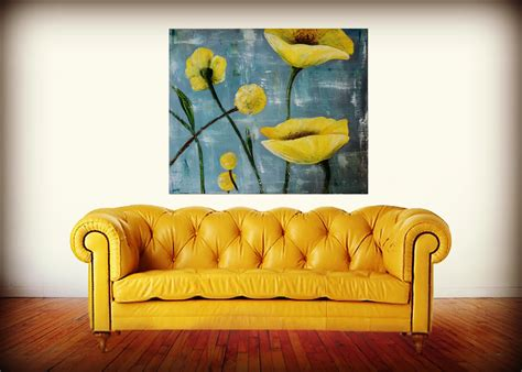 big yellow couch theartgirljackie tutorials palette knife painting