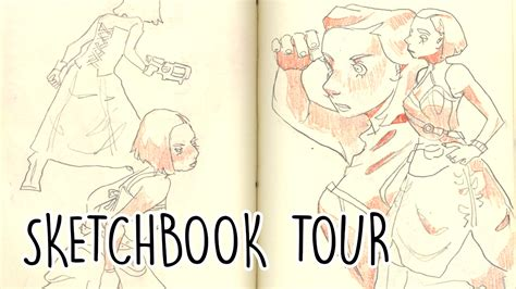 sketchbook tour what inspires me sketchbook tour
