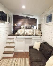 Platform Bed With Storage And Stairs S Wandering On Wheels Tiny Home 002 Couldn T Get A