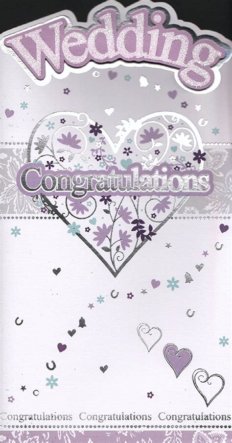 wedding place cards next day delivery wedding day card purple