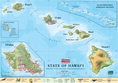 map of hawaii hawaii sequoia national park