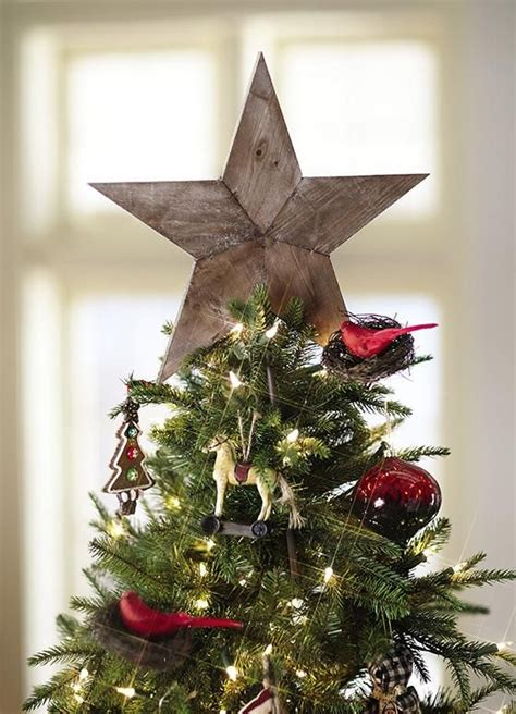 wood tree topper old fashioned christmas pinterest