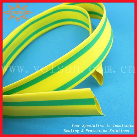 rhos heat shrinkable green yellow ground wire buy green