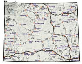 Map Of Wyoming State by Maps