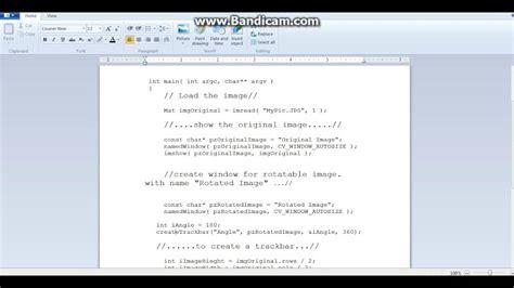 opencv tutorial for c image rotation using opencv opencv tutorial on ubuntu