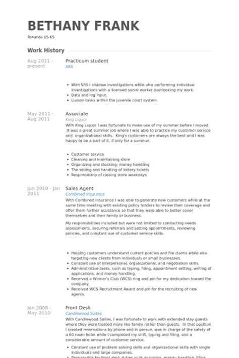 Resume Sample Of Retail Sales Associate by Practicum Student Resume Samples Visualcv Resume Samples