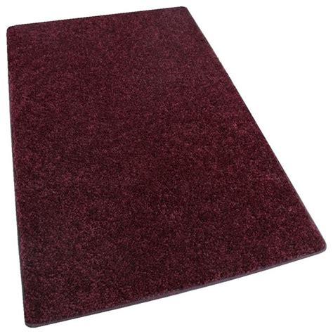 10 X10 Living Room Rug by Shaw Om Ii Royal Burgundy Carpet Area Rugs 30oz Cut