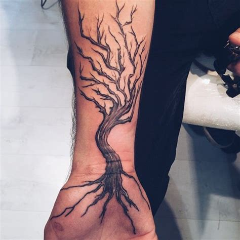 125 tree tattoos on back amp wrist with meanings wild