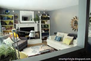 Living Room Makeover by Smartgirlstyle Living Room Makeover