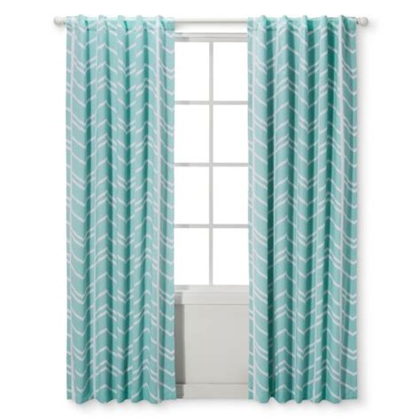 aqua light blocking curtains light blocking curtain panel herringbone cloud island