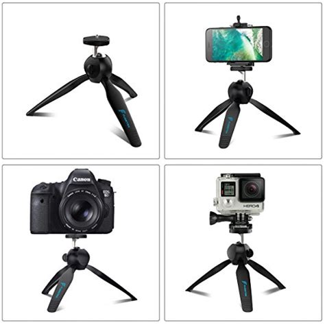 Tripod Lipat For Dslr Gopro Smartphone Fe046 3 premium mini tripod with phone mount fugetek table top stand for gopro smartphones compact