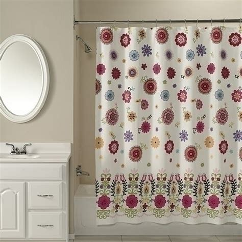 Sasha Floral Shower Curtain By Peri