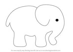 how to draw a doodle elephant learn how to draw an elephant for zoo animals step
