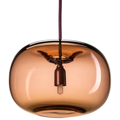pendelleuchten design design pendelleuchte aus mundgeblasenem glas casa lumi