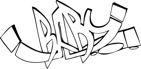 graffiti girls names coloring pages