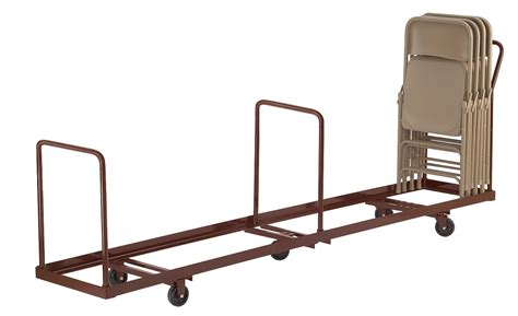 Folding Chair Cart by Vertical Chair Cart Handtrucks2go