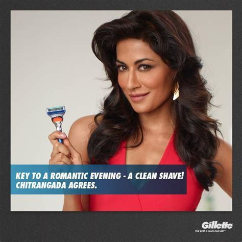 venus razor ads neha dhupia and chitrangda singh s print ads for gillette