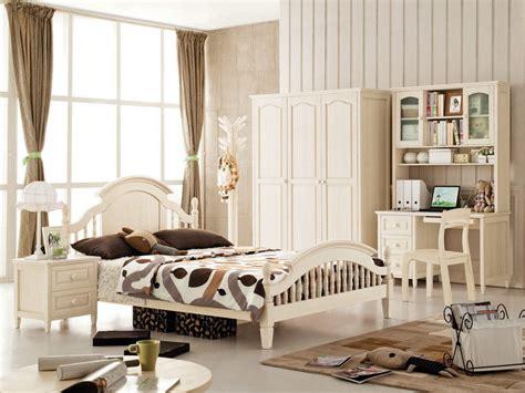 korean style wooden bedroom furniture for children 07010