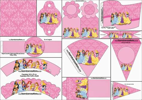 printable 12 mixed disney princess party cup cake toppers 510 best fiestas tematicas images on pinterest birthday