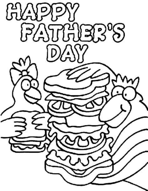 crayola coloring pages mothers day father s day hungry dad coloring page crayola com